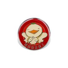 Offset Printed Logo Badge, Custom Lapel Pin (GZHY-YS-001)