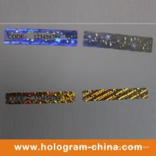 Пользовательские голограмма голографические скретч наклейки этикеток