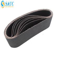 herramientas abrasivas GXK51 cinturón de arena negro para cerámica