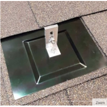 Support de montage de structure solaire de toit Kit de montage solaire de clignotant