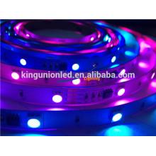 DC12V / 24V Niederspannungs-flexibles RGB geführtes Streifen-Licht