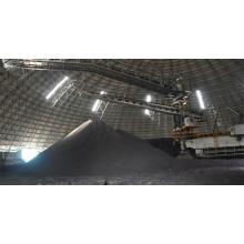 Armazém seco em aço para armazenamento de carvão em arco