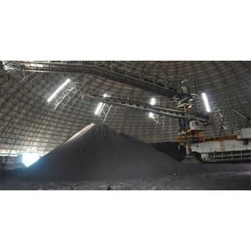 Einfacher Zusammenbau von Metall-Lagerschuppen zur Abdeckung von Kraftwerken