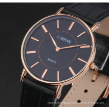 Fashion Stainless Steel Minimalist Ultra Thin Watch