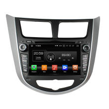 Car multimedia player for Verna Accent Solaris 2011