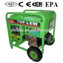 Generador de energía portátil y máquina de soldar 7GF-LEW