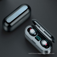 2020 F9 Wireless Waterproof IPX-7 Headphones touch Earphones Tws Earbuds Bluetooths 5.0 Wireless Earbuds Earphone
