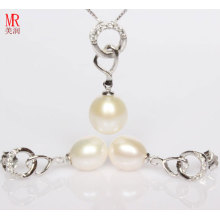 Ensemble cadeau 925 Silver Love Pearl