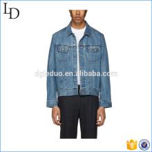 Neue Art-Baumwollmantel-Mann-dünne Jeans-Jacke