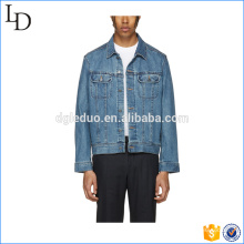 Manteau en coton de style New Men Jeans Slim Jacket