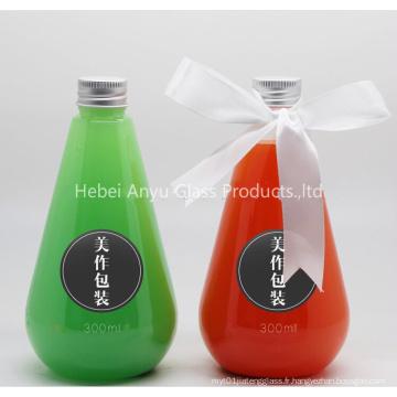 250ml 500ml 1L Bouteille en verre pour boissons / Jus de fruits / Lait / Eau