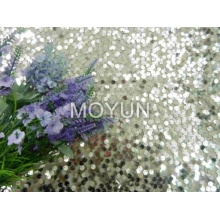 POLY MESH WITH 6MM SEQUIN EMBD 50/52""