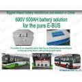 Bateria de Ion Lithium Ion de 36V 100ah