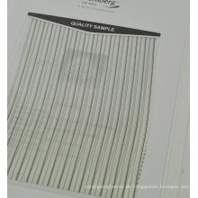Plain Streifen Design Cupro Stoff für Futter für Ärmel