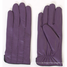 Damen Mode Schaffell Leder Fahrhandschuhe (YKY5165)