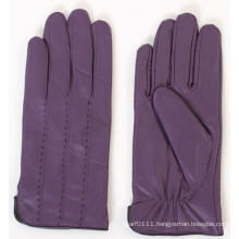Ladies Fashion Sheepskin Leather Driving Gloves (YKY5165)