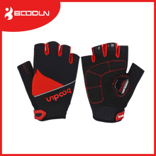 High Quality Unisex Short Cut Anti-Shocking Mesh Fabric Bicycle Racing Gloves