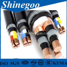 steel wire armoured flame retardant power cable