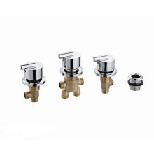 brass shower taps chrome mixer bathtub faucet