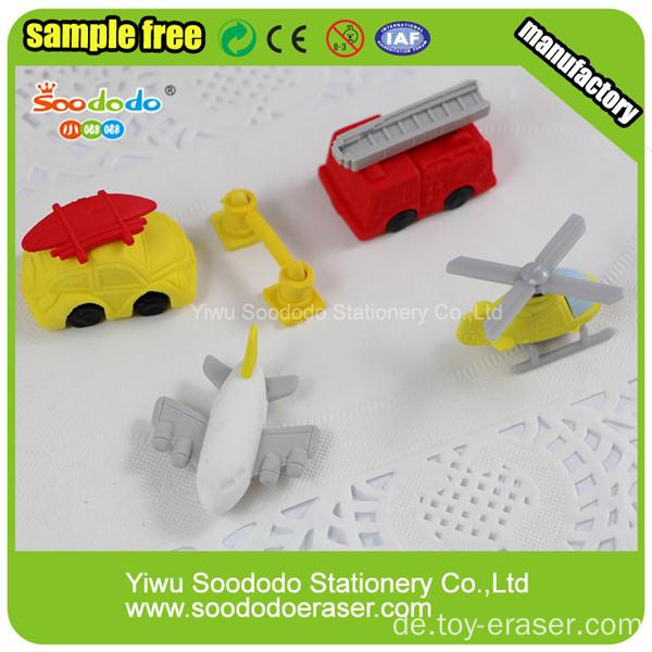 Bagger LKW Car Shaped Puzzle Crazy Erasers