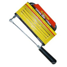 """Woodworking Coping Saw 7"""" with 3PCS Spare Blades for DIY/Decoration"""