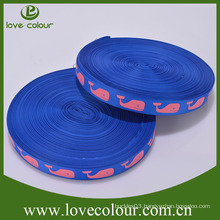 Cheap Custom Colorful &Cartoon Printed Grosgrain Ribbon in stock