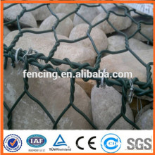 pvc recubierto Gabion Box Wire Cage Rock Wall