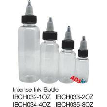 Bouteille de spray en plastique, bouteilles de pigments à l'encre tatouage de différentes tailles, bouteilles de pigments à l'encre pour tatouage