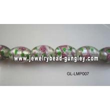 kleine Blume-Lampwork-Beads für DIY Schmuck