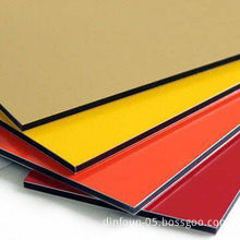 Aluminum Composite Panels with PE/PVDF Coating, Lightweight and Easy to ProcessNew