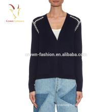Cachemire en cachemire de luxe tricoté Girl Pulls