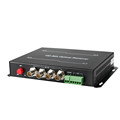 sd/hd/3g 4 channel SDI converter sdi fiber transceiver