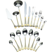 86 PCS Stainless Steel Dinnerware Set