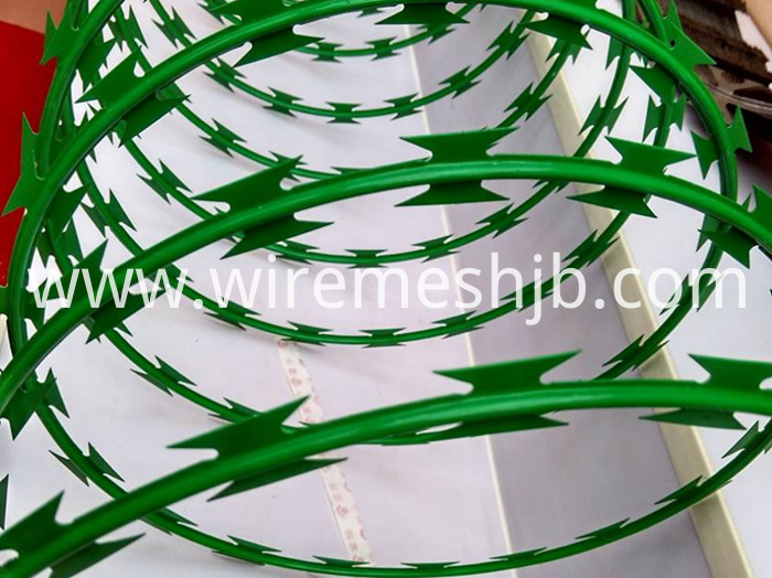 PVC Coated Concertina Wire