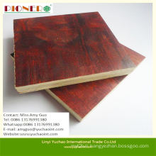 Low Price One Time Molding Red Film Faced Plywood