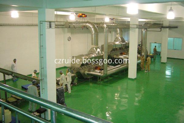 corn grain dryer / Vibrating fluid bed dryer