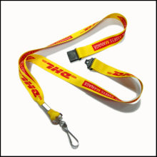 Modisches Design Dye Sublimation // Wärme übertragen Logo Custom Lanyard für Absolventen