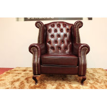 Best-Selling Elegant and Modern Design Leather Leisure Armchair