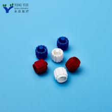 cubierta de tornillo de bloqueo luer médico de plástico