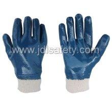 Terry Pinsel gestrickte Handschuhe mit vollen Nitril Beschichtung Nitril (NB1511) arbeiten