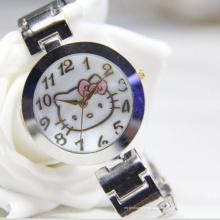 Reloj de pulsera de lujo de tipo impermeable y material de aleación de cuarzo para mujer