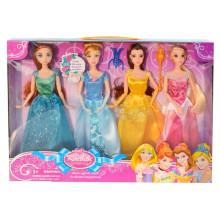 2015 nuevo producto 11 pulgadas de plástico Pretty Dress Up Doll