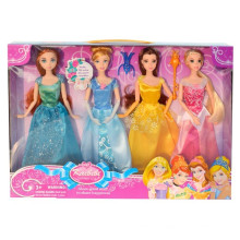 2015 novo produto 11 polegadas plástico bonito vestir boneca