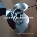 stainless steel 17-4PH Blade for boat , cnc turning stainless steel parts service