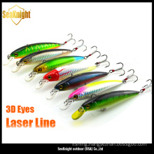 Durable artificial lure, fishing lure, excellent hard lure