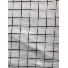 tissu de polyester teint par fil pour le textile à la maison