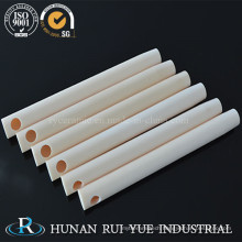 China Goods Wholesale 99% High Alumina Ceramic Tubes with Holes