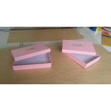 Boîte d'emballage en carton personnalisée pour bas de soie