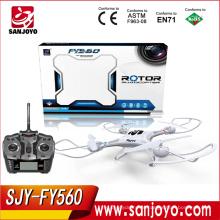 2016 SJY-FY560 Профессиональный пульт дистанционного управления беспилотный высокое качество quadcopter игрушки летающий свет беспилотный летательный аппарат с 2-мегапиксельной камерой