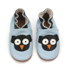 New Fashion Kids Soft Sole Baby Läder Skor